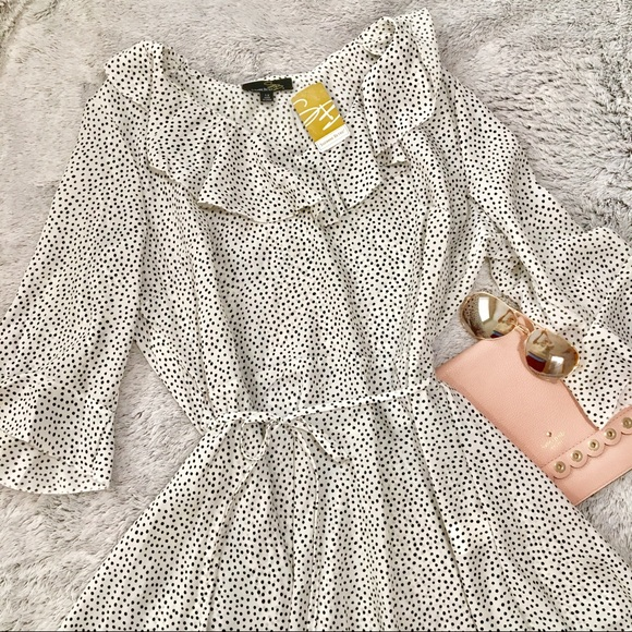Suzanne Betro Dresses & Skirts - ✨NWT Suzanne Betro Polka Dot Dress